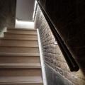 Beleuchtete Edelstahl Geländer ILLUNOX Treppe Beleuchtung
