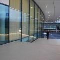 Eingang Edelstahl Geländer mit LED Beleuchtung