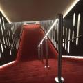 Edelstahl Geländer mit LED Beleuchtung