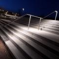 Beleuchtete Edelstahl LED Handlauf ILLUNOX