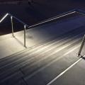 Edelstahl Geländer mit Beleuchtung
