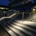 Edelstahl Geländer mit LED Beleuchtung ILLUNOX