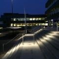 Edelstahl Geländer mit LED Beleuchtung System ILLUNOX