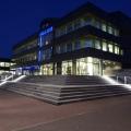 Edelstahl Treppen Geländer mit LED Beleuchtung ILLUNOX