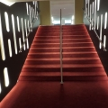 Staircase illuminated handrail