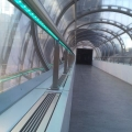 Handrail stainless steel with LED lighting