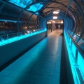 Handrail with LED lighting