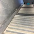 LED Treppenbeleuchtung Bahnhof Brüssel Nord ILLUNOX 1