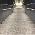 LED Treppenbeleuchtung Bahnhof Brüssel Nord ILLUNOX 10