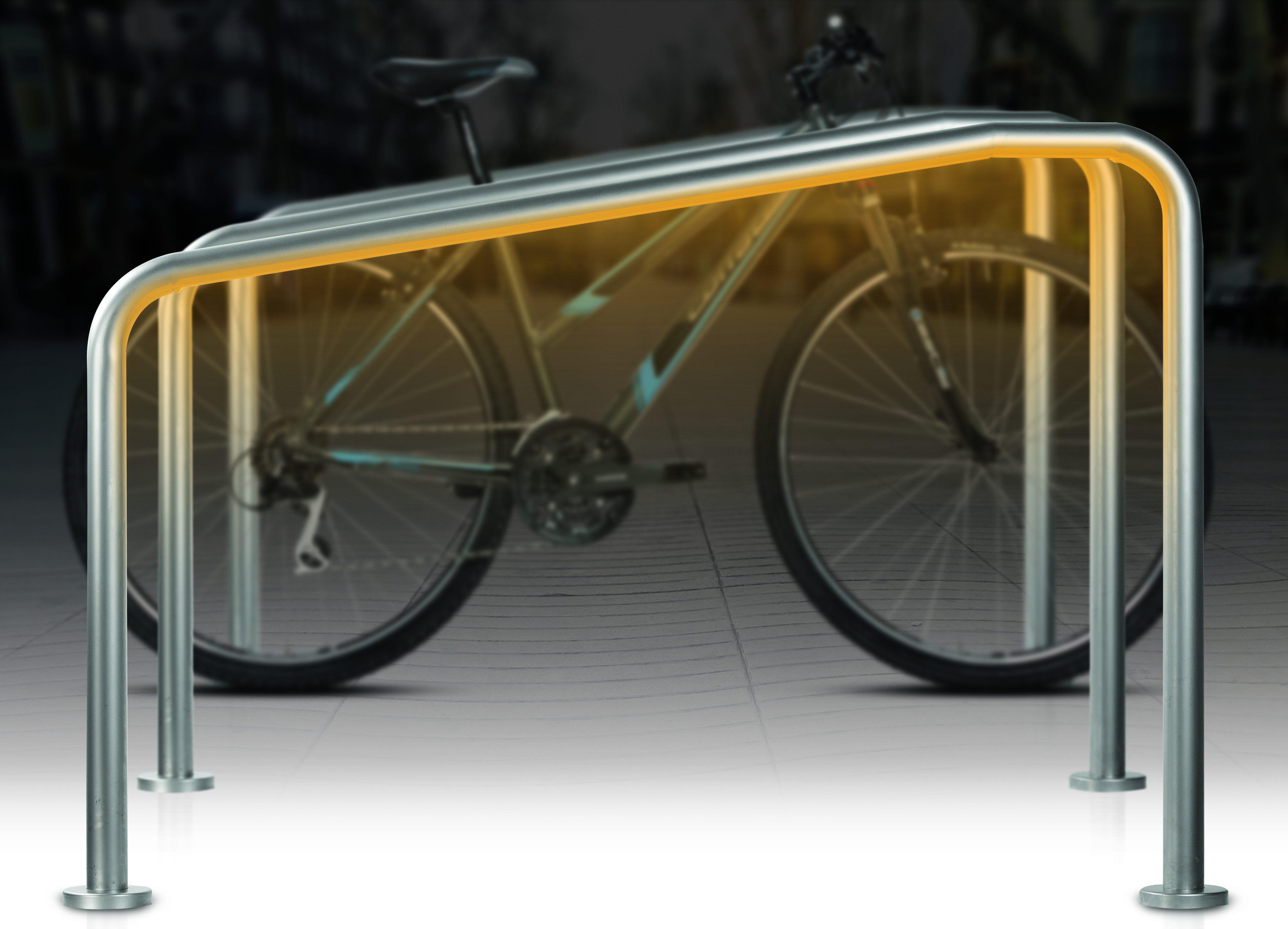 Succesvolle introductie verlichte fietsbeugel in Brussel!