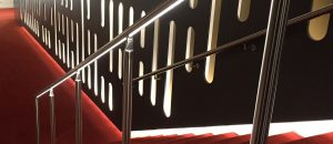 LED handrail safe and sustainable