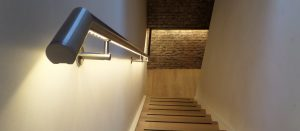 LED handrail atmospheric & functional
